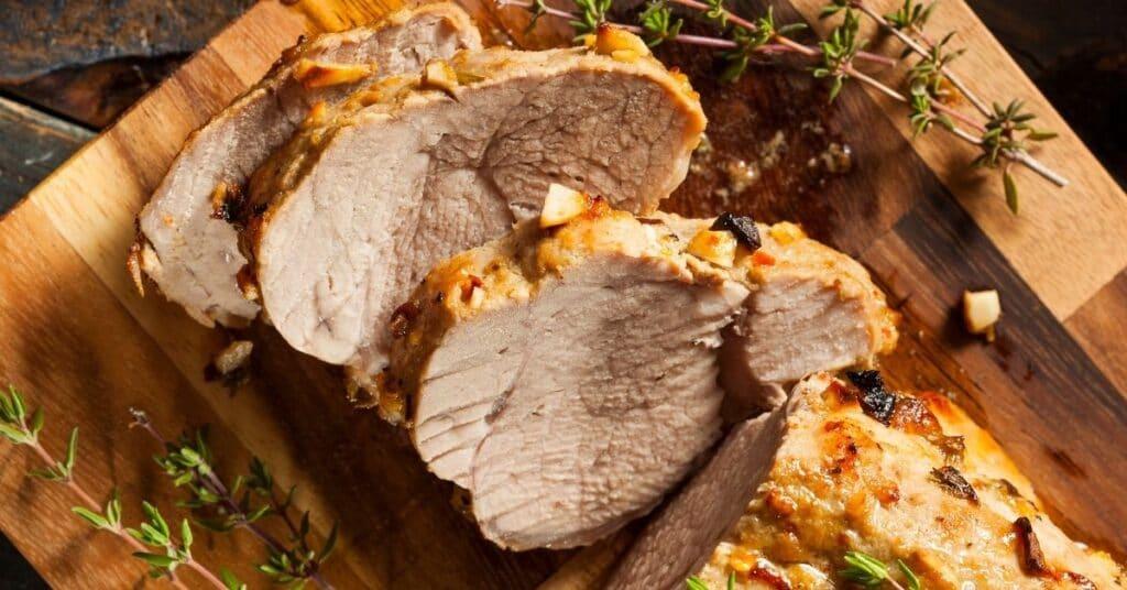 Pork Tenderloin a la Napoli