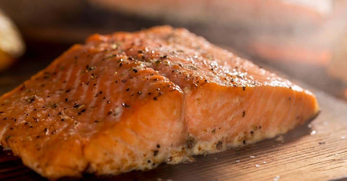 Cedar Planked Salmon