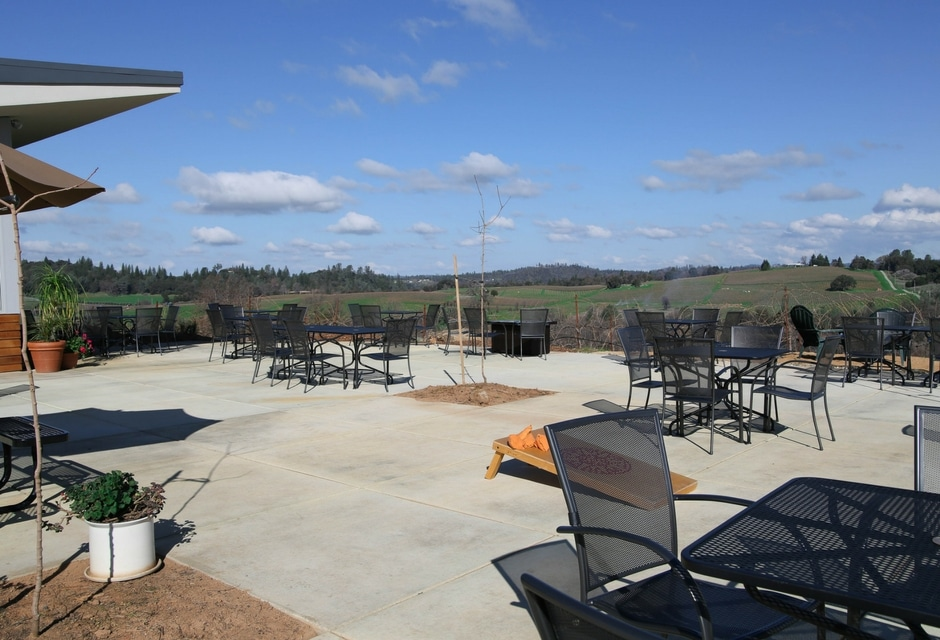 Iron Hub Winery Patio