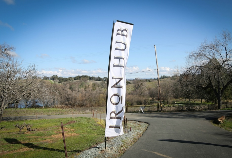 Iron Hub Winery Entrance