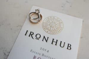 Iron Hub Wedding Ring