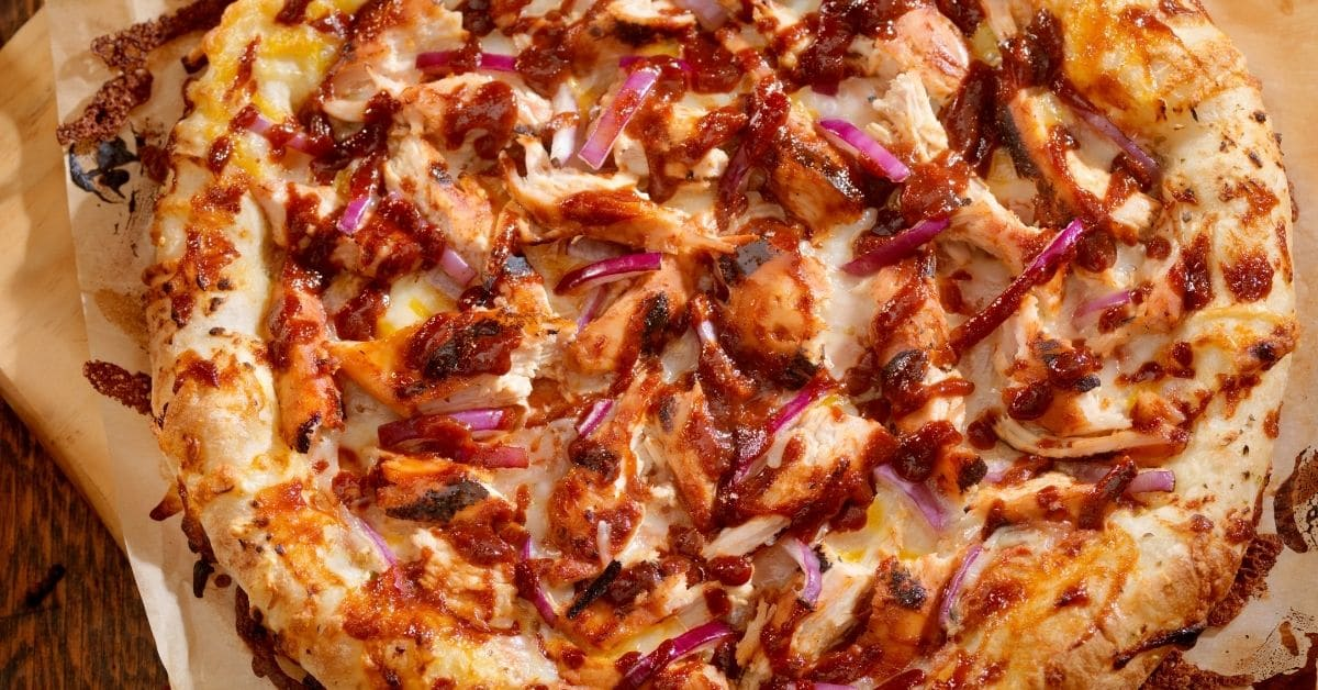 BBQ Chicken Pizza