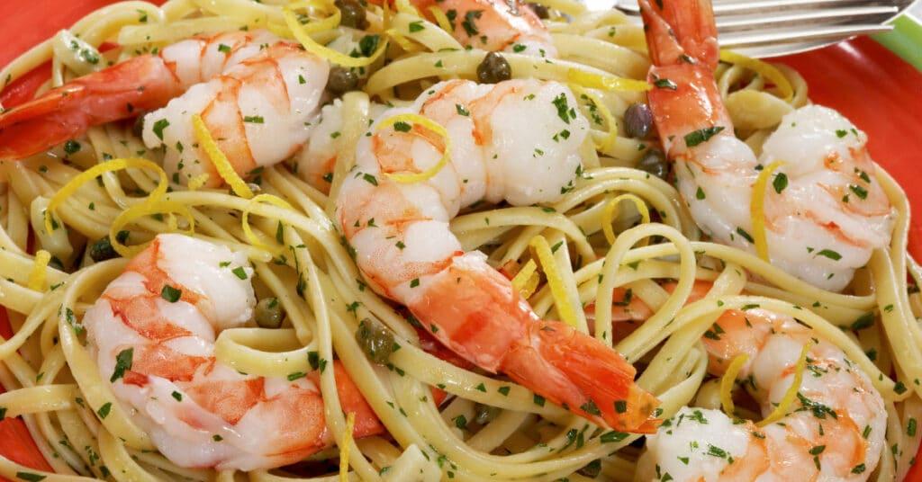 Linguine with Shrimp