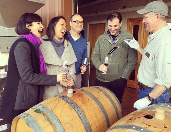 iron Hub Barrel Tasting with Winemaker Tom Jones