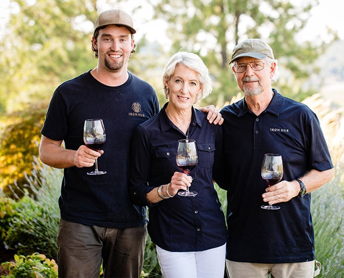 Iron Hub Winery's Jones Family
