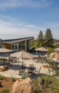 iron Hub Winery Patio View